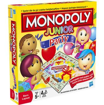 Monopol Junior - sällskapsspel för barn
