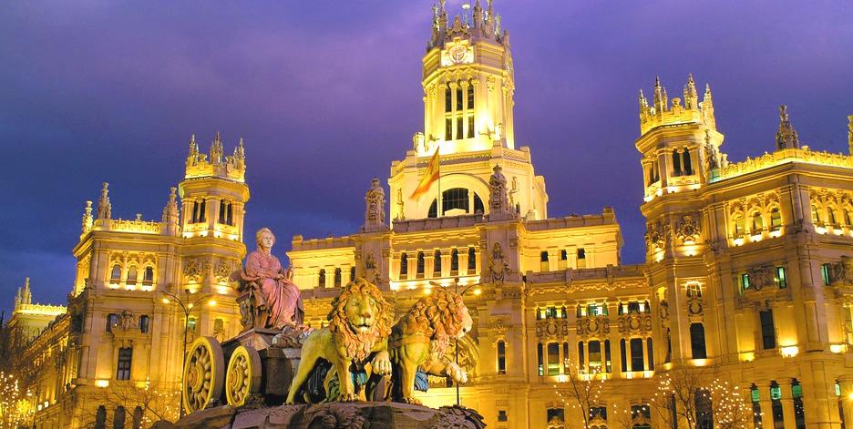 Madrid i Spanien