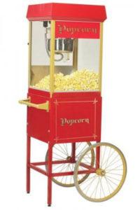 hyra popcornmaskin